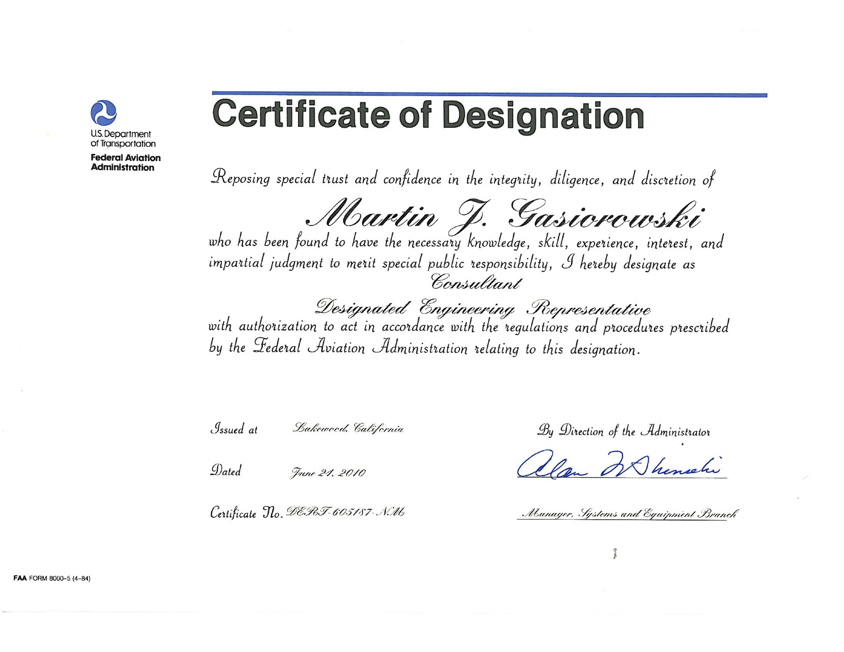 Worldwide certification services inc designated engineering worldwide certification services inc designated engineering representative der 1betcityfo Image collections